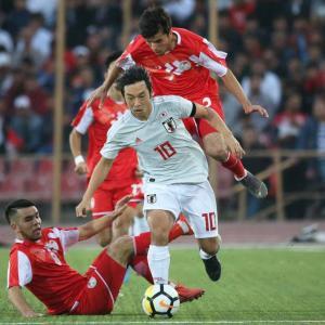 タジキスタンとブラジルに勝った!