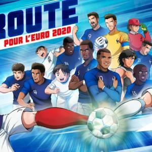 キャプテン翼とコラボのフランス代表がデシャン監督100試合目を首位突破でお祝い!
