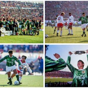 1994年1月16日Jリーグ初代チャンピオンにヴェルディ川崎