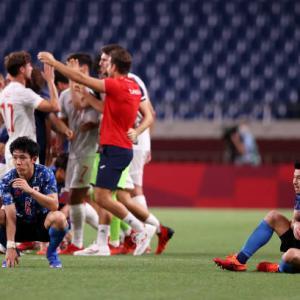 東京五輪準決勝 日本 vs スペイン