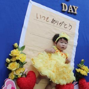 6月の「父の日」おひるねアート撮影会のご報告 1