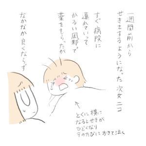 今年の風邪、やっかいです><