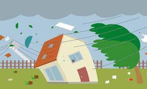 台風の時は木造の戸建て住まいよりマンションがいいな