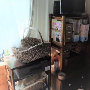 家具を減らす、収納してたものをどこに移動しようかと悩む