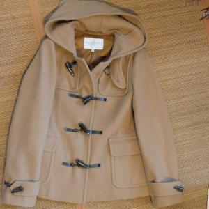 メルカリに出したコートが20分くらいで売れました