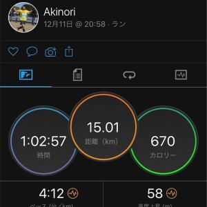【加古川11日前】BU走!5km×3(425-415-405/km)
