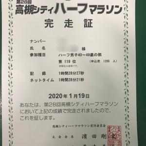 【速報】高槻シティハーフ