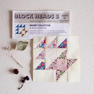 Moda Block Heads 3 37枚目のパターン。