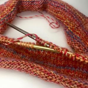 手編みで手作り冬支度