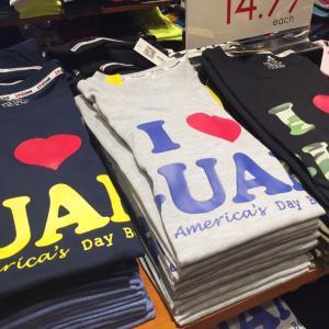 グアム現地調達Tシャツに変化が!「Guam1ビール」Tシャツが大流行中
