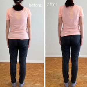 美容整体・お客さまの体の変化・よい気が巡る体