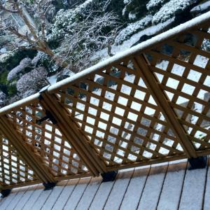 雪景色と視点の変化と