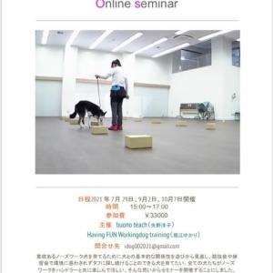 オンラインセミナー開催の予定