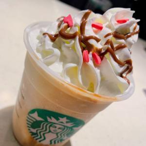 【Starbucks】新作メルティ生チョコレートフラペチーノ®