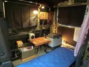 N-VANとフリードスパイクでダブル車中泊!Wコンロで朝食
