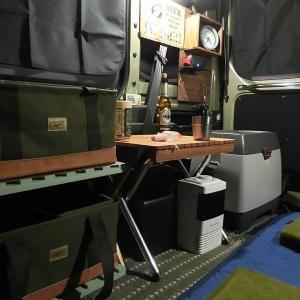 N-VANを自宅駐車場で部屋化して愉しむ!電気もバッチリ