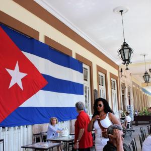 2018年ゴールデンウィーク キューバ(革命広場で定番写真を撮影編)