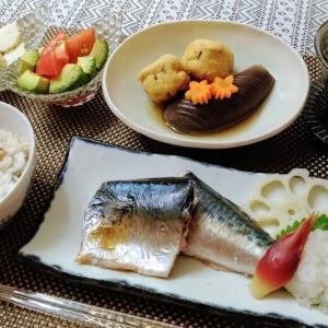 食費予算20000円達成♪ 鯖塩焼き膳♪♪