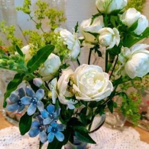 お花♪キタアカリでニョッキ♪♪