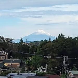 おうちで富士山の景色♪秋のケークサレ♪♪