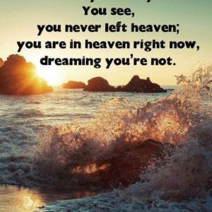 バシャール:貴方は 天国にいながら 天国にいないという夢をみているのです