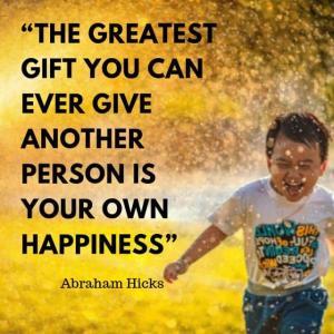 エイブラハム:あなたが ほかの人に与えることのできる もっともすばらしい贈り物は…