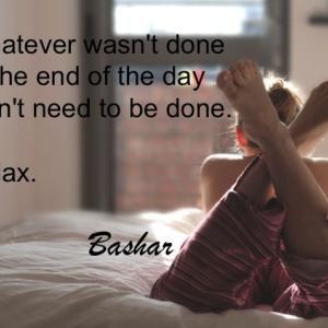 バシャール:一日のおわりに やり終えていないことは やる必要のないことです リラックスしましょう