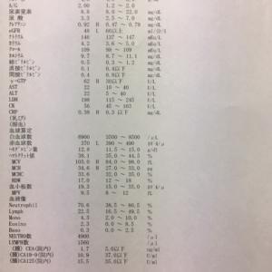 リムパーザ減薬で継続(再開から8週間経過)