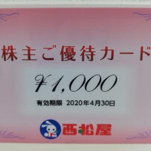【株主優待】西松屋
