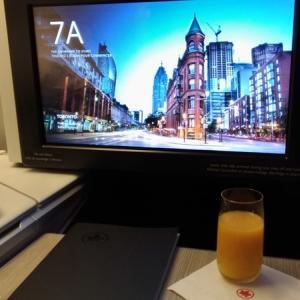 2019 特典航空券で行くカナダ旅行⑨ 〜エアカナダAC62便 仁川→トロント搭乗記 前編〜