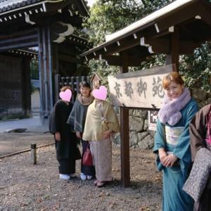 高知着物女子♪京都迎賓館へ♪