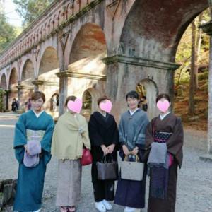 高知着物女子♪京都南禅寺へ♪