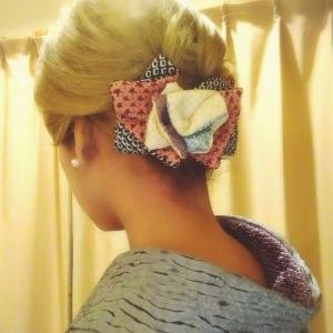 和装髪飾りの作り方♥