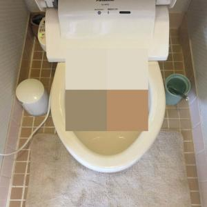 トイレ詰まり 奈良県生駒市 - 便器脱着修理作業