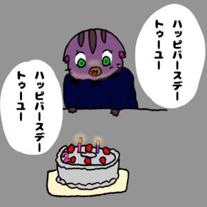 763,誕生日レポート ケーキハプニング