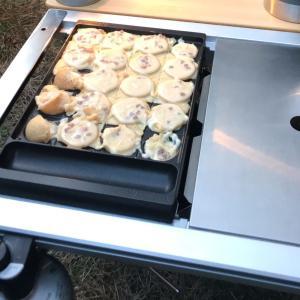 【スノーピーク】雪峰苑 たこ焼きプレートの紹介~キャンプ料理の幅を広げてくれる救世主~
