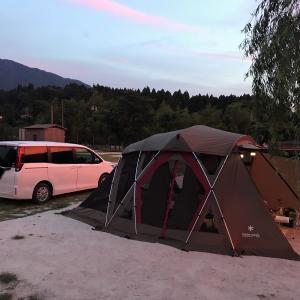 朽木オートキャンプ場でソロキャンプ初体験~くつき温泉てんくう最高でした~