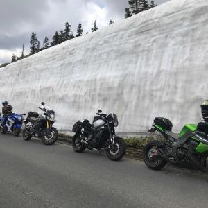 雪の回廊ツーリング