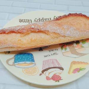 ほどよいカリッと感が!ローソン「ミルクとバターのフランスパン」の口コミとカロリーです♪