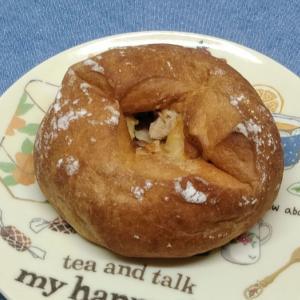 ローソン「たんぱく質が摂れる チキンとチーズパン」の口コミとカロリーです♪