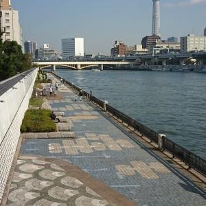 蔵前橋と国技館