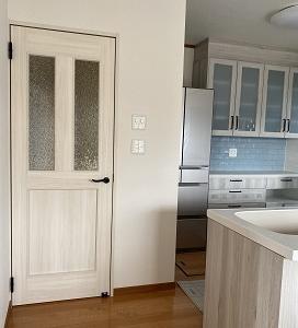 キッチンがほぼ?完成