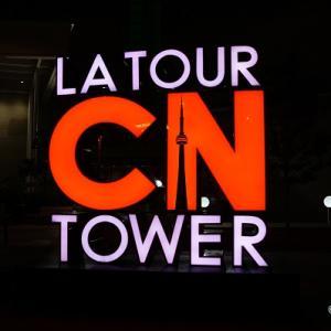 トロント観光 夜のCNタワーやユニクロ1号店など【カナダ旅行記⑤】