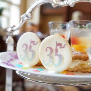 東京ディズニーランドホテル 35周年アフタヌーンティーセットを頂きました♪