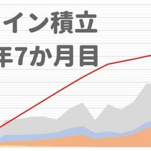 【コイン積立 運用実績】19か月目は−12.3%!ビットコイン以外、死んでいる(2019年8月)
