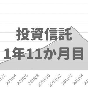 【積立投資信託 運用実績】23ヶ月目は+6.2%!ひふみプラス好調(2019年10月)