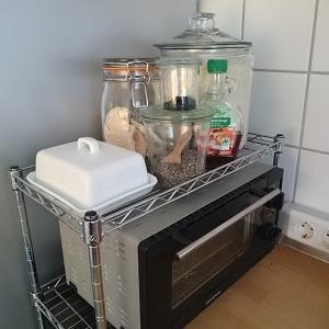 ☆お米の保存容器を無印のトタンボックスへ