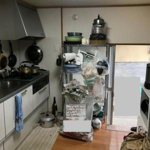 家族の力を合わせて実家のお片付け③キッチン
