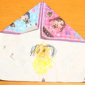 4歳5か月のおえかき 3種の凧