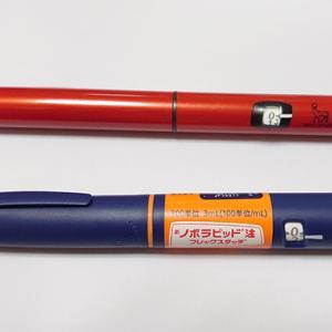 使い捨てペン(フレックスペン)を消化してみる